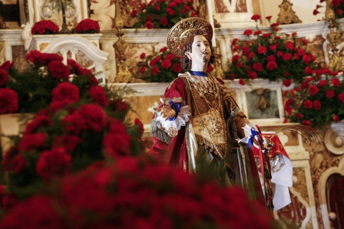 Sant'Efisio, soldato tra i soldati