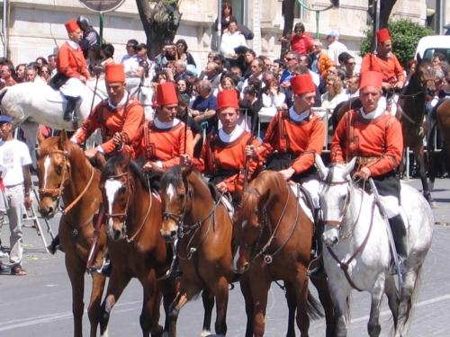 Le uniformi dei Miliziani di Sant'Efisio