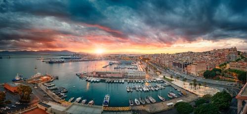 Luna Rossa a Cagliari per l'America's Cup 2021